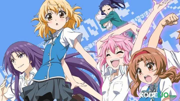 Anime Comedy School Terbaik